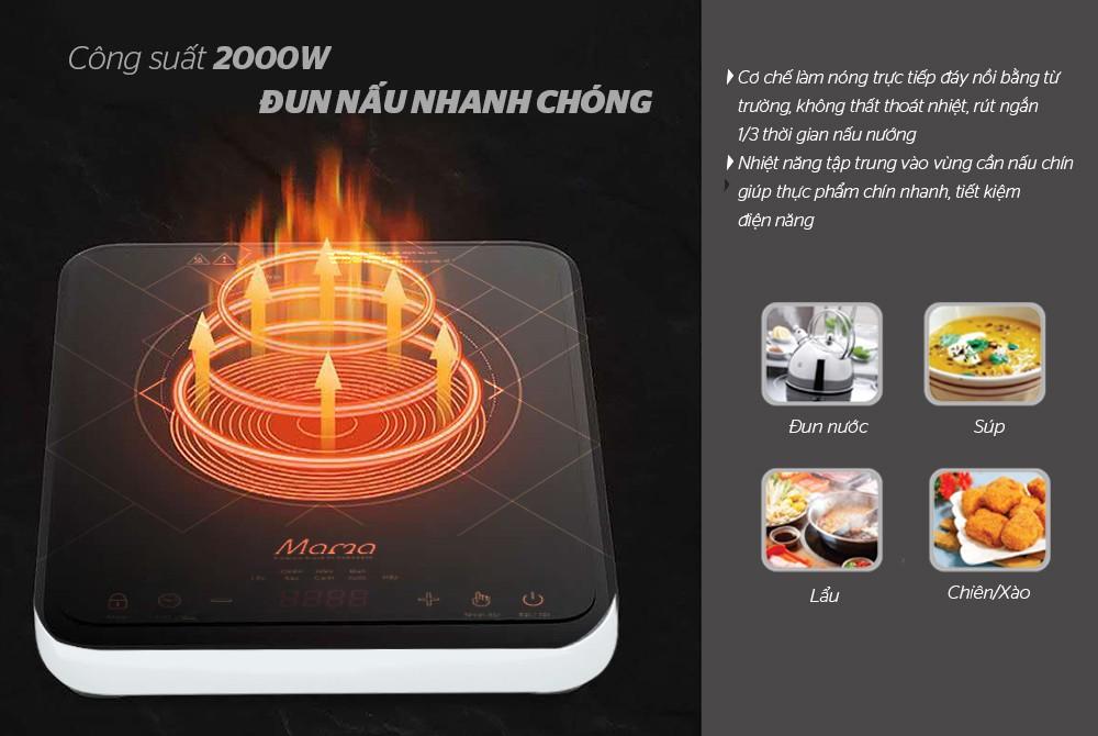 Bếp điện từ cảm ứng Sunhouse Mama SHD6859 - Hàng Chính Hãng