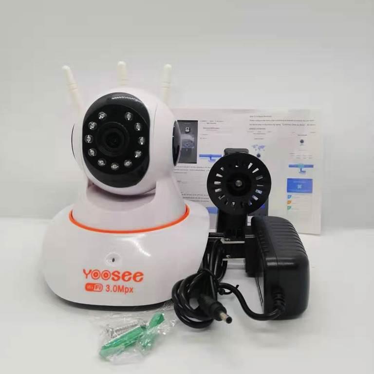 Camera wifi IP app YOOSEE 3 râu 1536P-3.0MP  chuyên trong nhà - hàng nhập khẩu