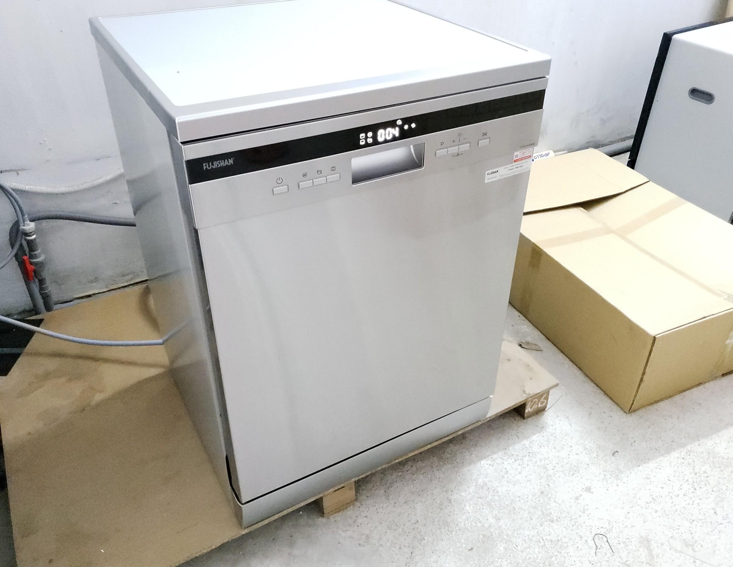Máy rửa bát gia đình độc lập Fujishan FJVN15- S08AF (15 bộ) - Hàng Chính Hãng