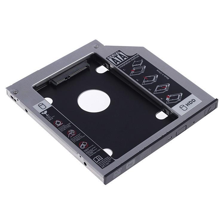 Khay Ổ Cứng Laptop (Caddy Bay) mỏng 9,5mm - Hàng Nhập Khẩu