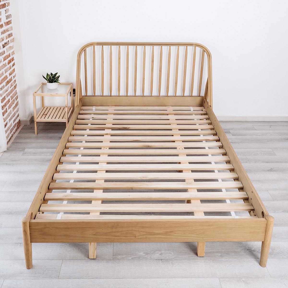 Giường Ngủ Belux Bed Gỗ Tự Nhiên Nội Thất Kiểu Hàn BEYOURs