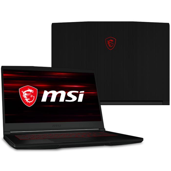 Laptop MSI GF63 Thin 9SCSR-846VN (Core i7-9750H/ 8GB DDR4 2666MHz/ 512GB SSD M.2 PCIE/ GTX 1650Ti 4GB GDDR5 with Max-Q/ 15.6 FHD IPS, 144Hz/ Win10) - Hàng Chính Hãng