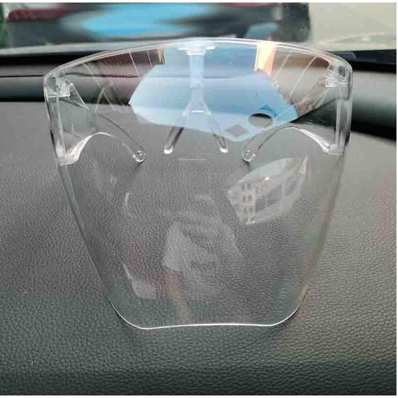 Kính chống giọt bắn phòng Covid-19 Nhựa Cứng Trong Suốt SHEILD FACE