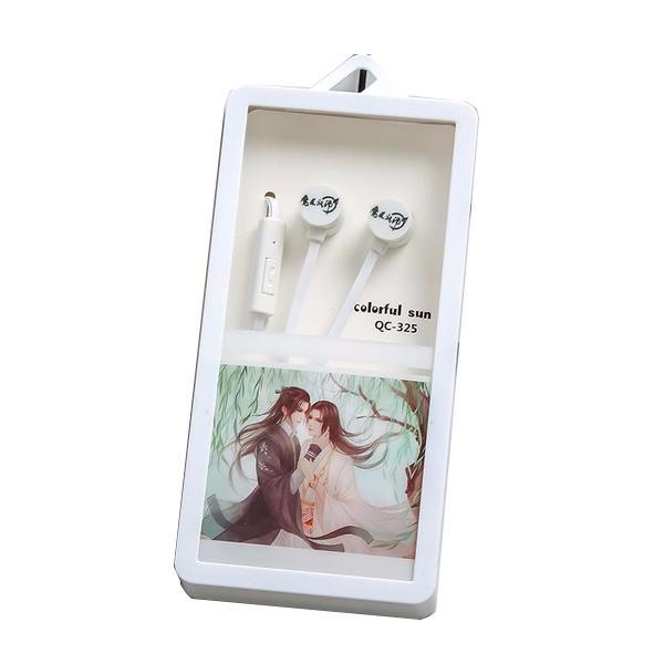 Tai nghe ma đạo tổ sư nhét tai nhỏ gọn tiện lợi thời trang Ngụy Vô Tiện Lam Vong Cơ Ma Đạo Tổ Sư phim Trần Tình Lệnh tặng ảnh thiết kế vcone