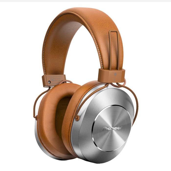 Tai Nghe Bluetooth Chụp Tai Over-ear Pioneer SE-MS7BT Tan - Hàng Chính Hãng