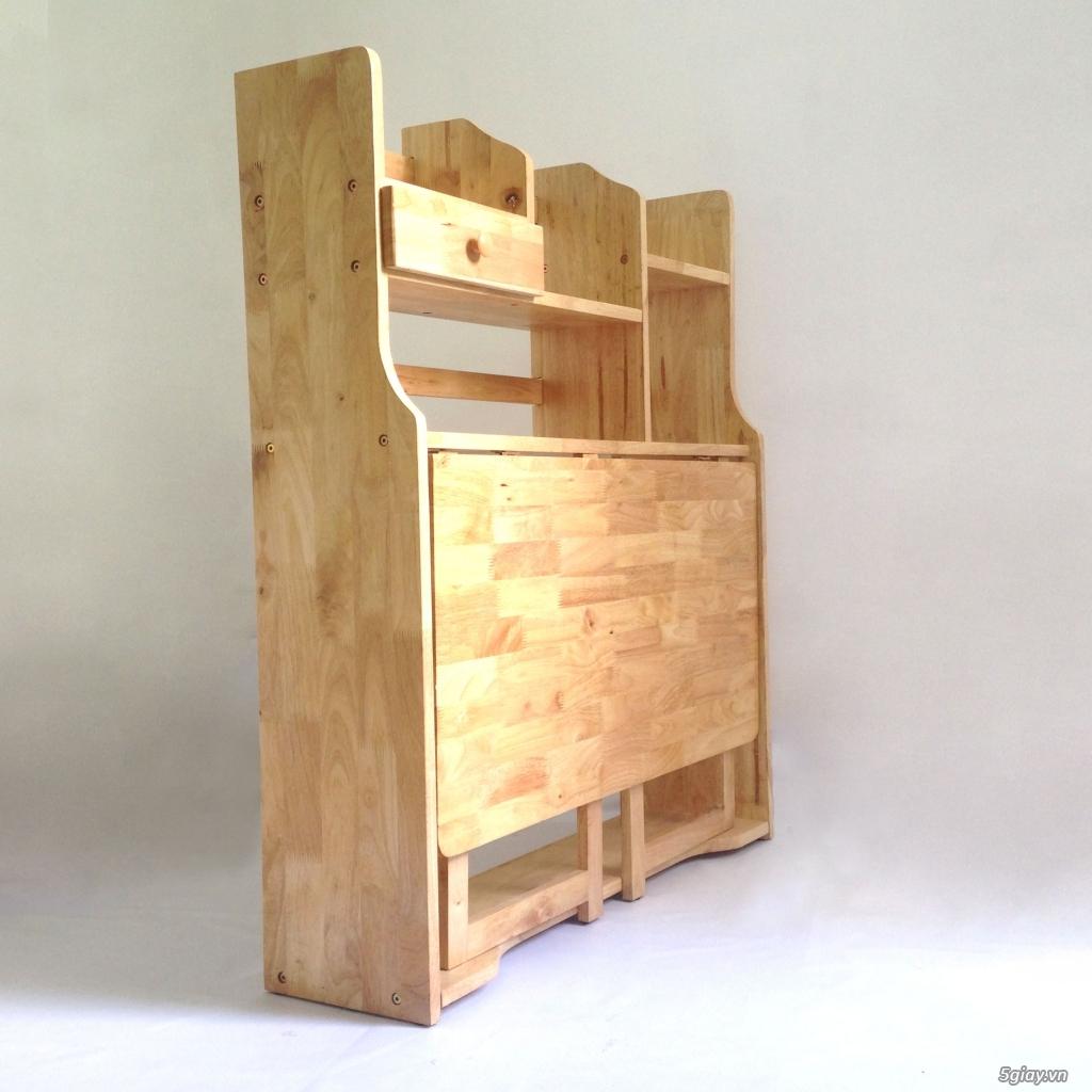 Bàn học sinh gỗ xếp gấp gọn