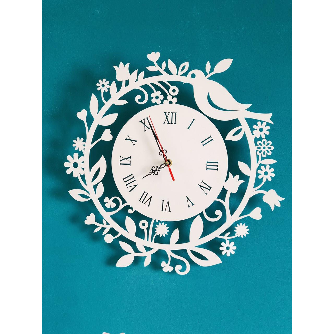 Đồng hồ nghệ thuật sắt sơn tỉnh điện