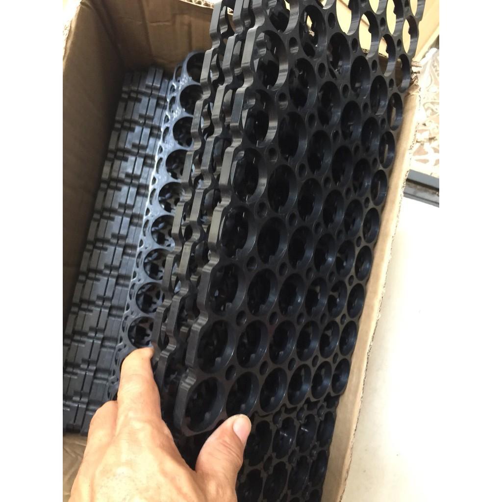 Khung nhựa giữ pin 6x12p 32650 32700