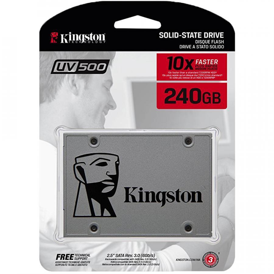 Ổ cứng SSD Kingston UV500 3D-NAND SATA III 240GB SUV500/240G - Hàng Chính Hãng