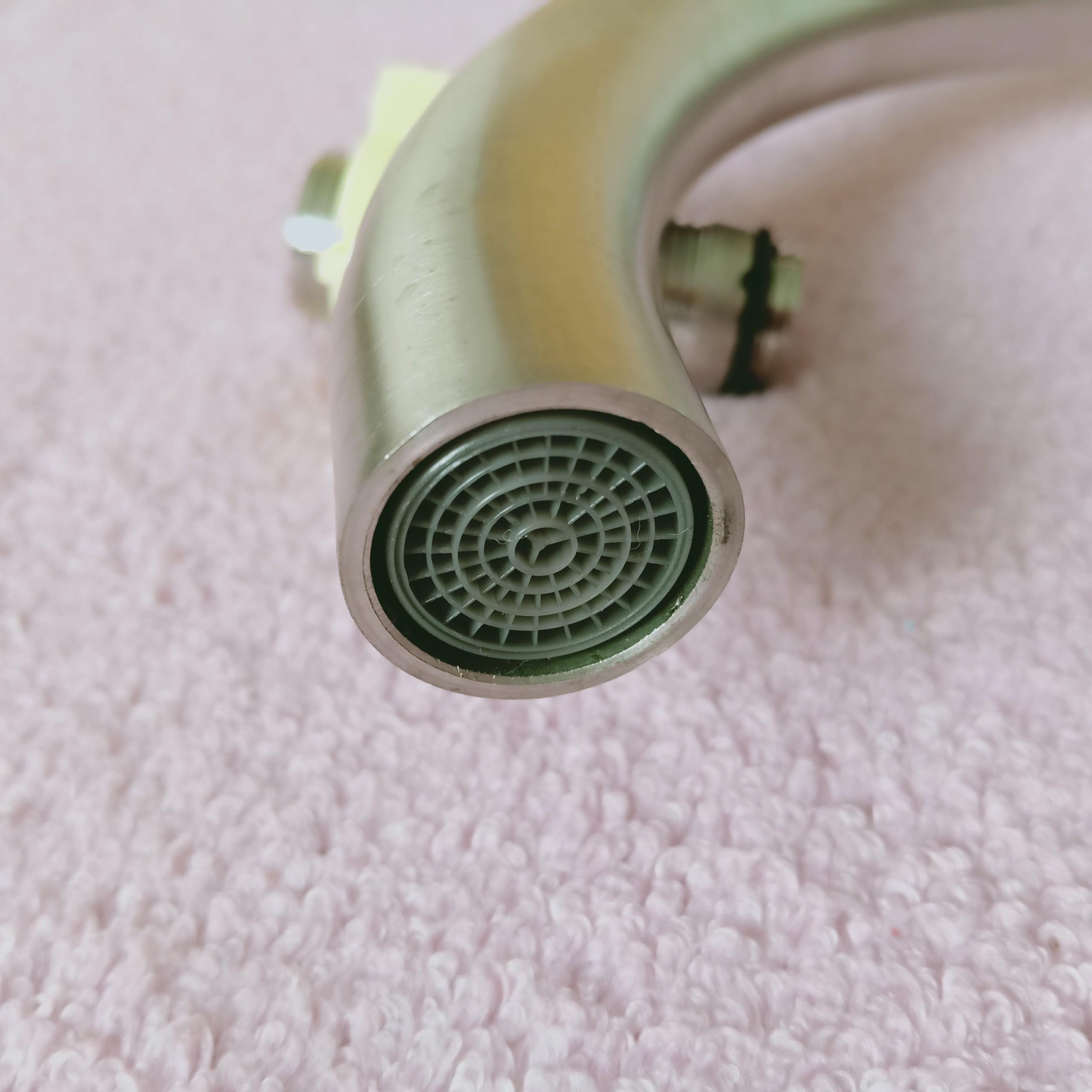 Vòi rửa bát, chén (chỉ lạnh) INOX SUS 304_vòi rửa chén cao cấp ống cong lớn