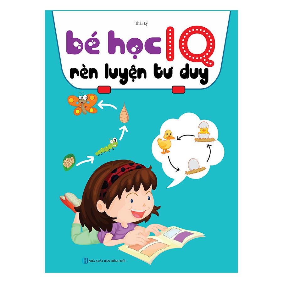 Bé Học IQ - Phát Triển Trí Tuệ Cho Bé (Bộ Túi 8 Cuốn )