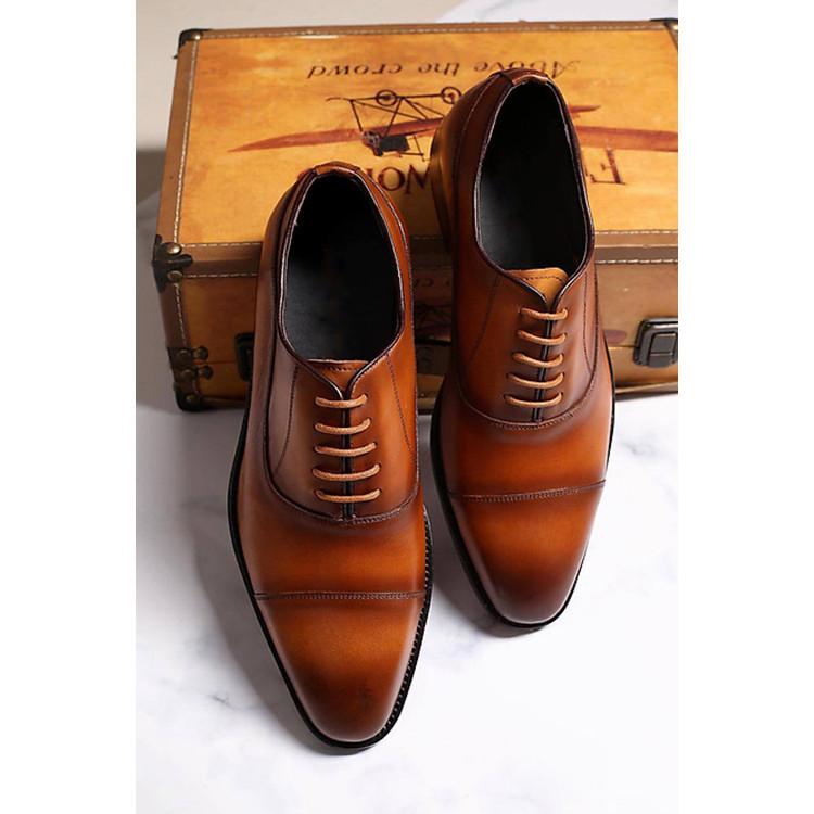 Giày tây nam công sở cao cấp Udany _ Giày nam lịch lãm _ GBD015