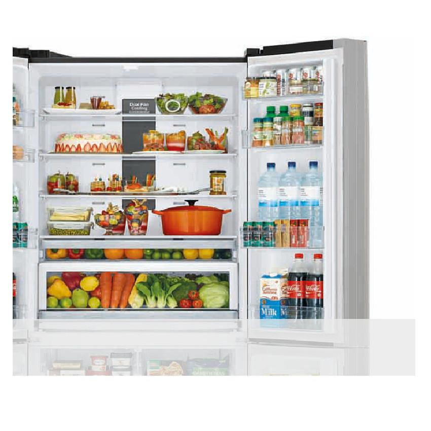 Tủ lạnh Hitachi Inverter 640 lít R-FWB850PGV5 XGR - HÀNG CHÍNH HÃNG