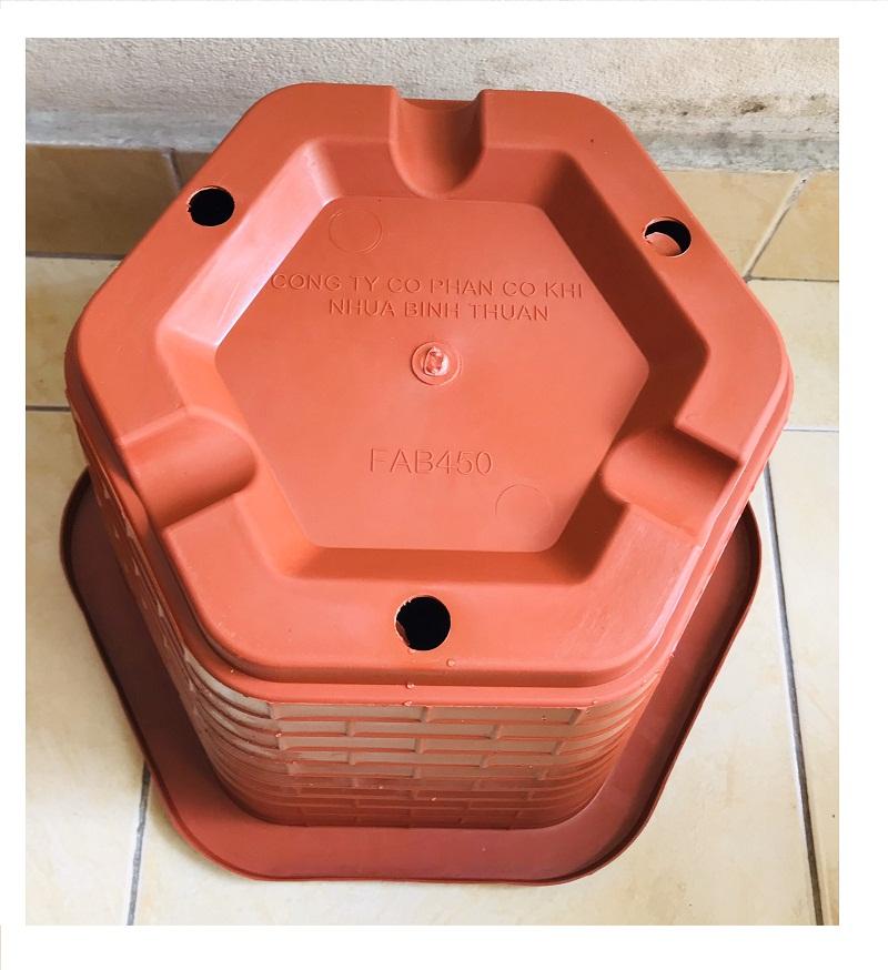 2 Chậu Nhựa Trồng Cây Cảnh, Hoa FA-450 Bình Thuận Plastics