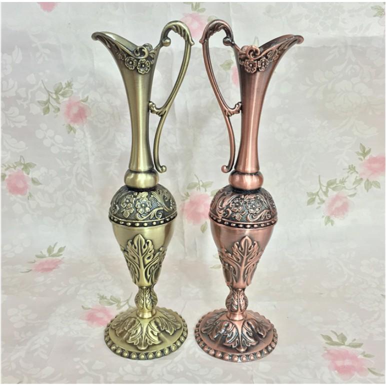 Bình hoa đồng cổ mang phong cách tân cổ điển sang trọng BHD01 - Decor trang trí nhà cửa mới lạ.
