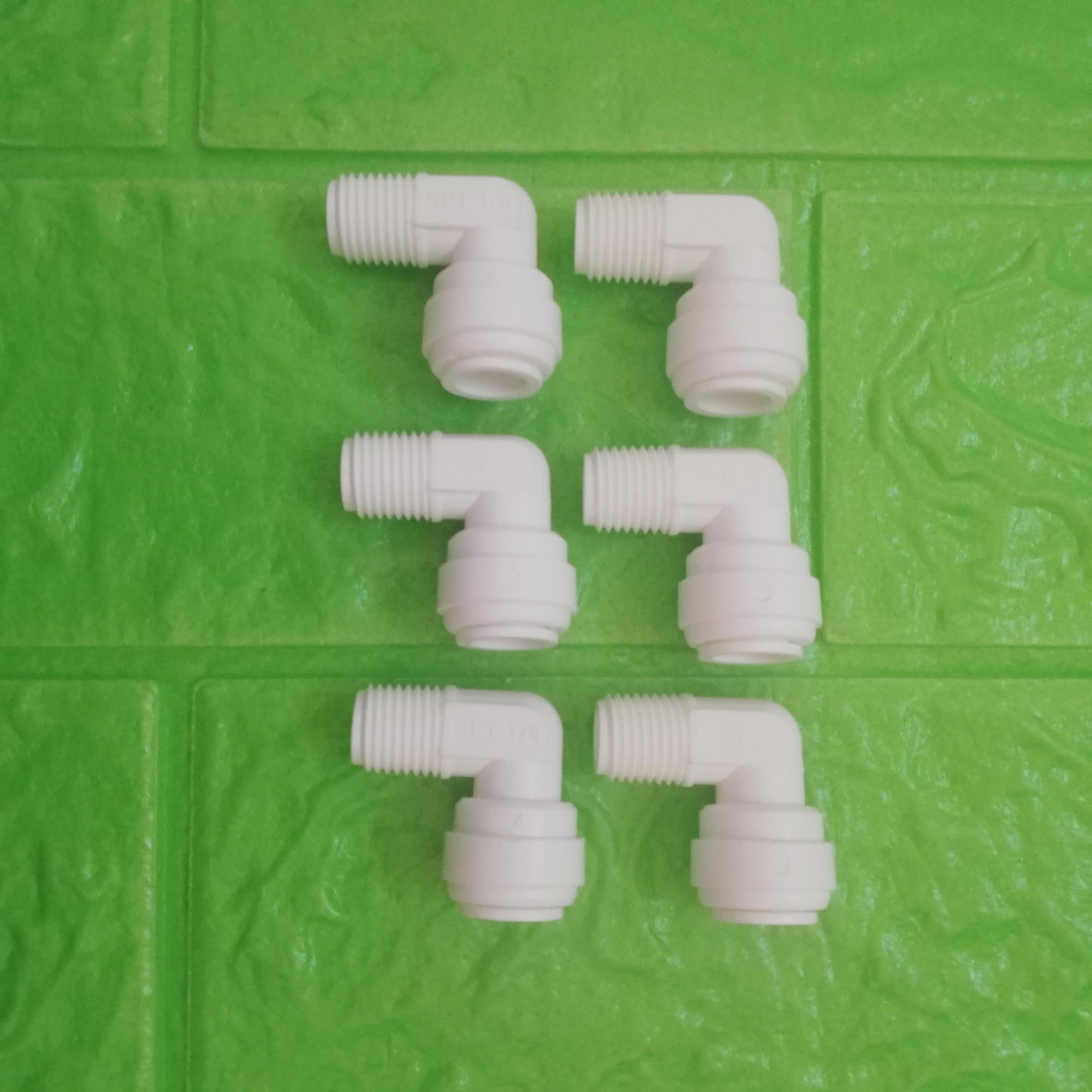 Combo 6 cút nối nhanh máy lọc nước ren 13 ra dây 10 - Hàng chính hãng