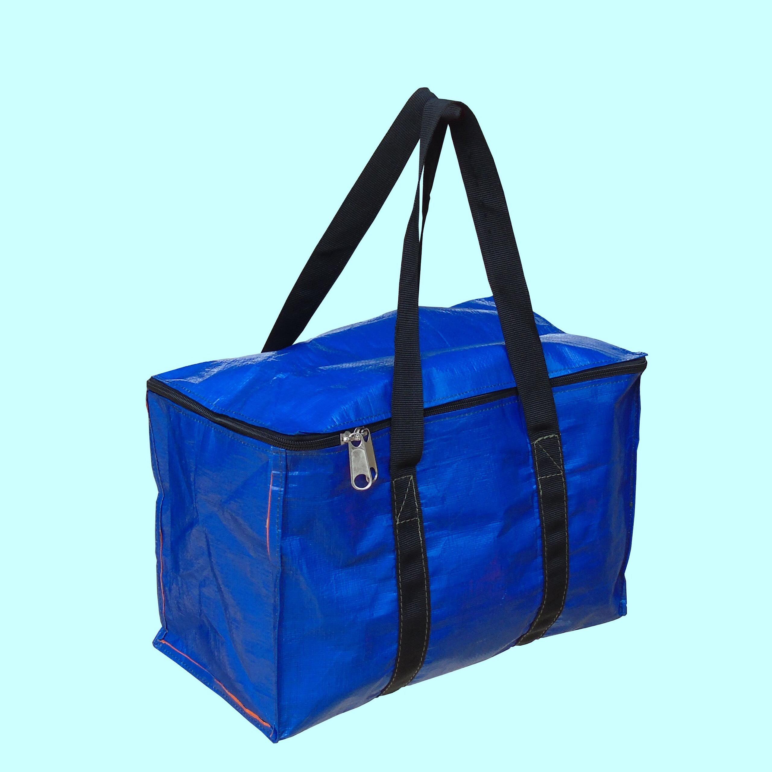 Túi bạt đựng đồ xanh cam SAFE DECOR nhiều size