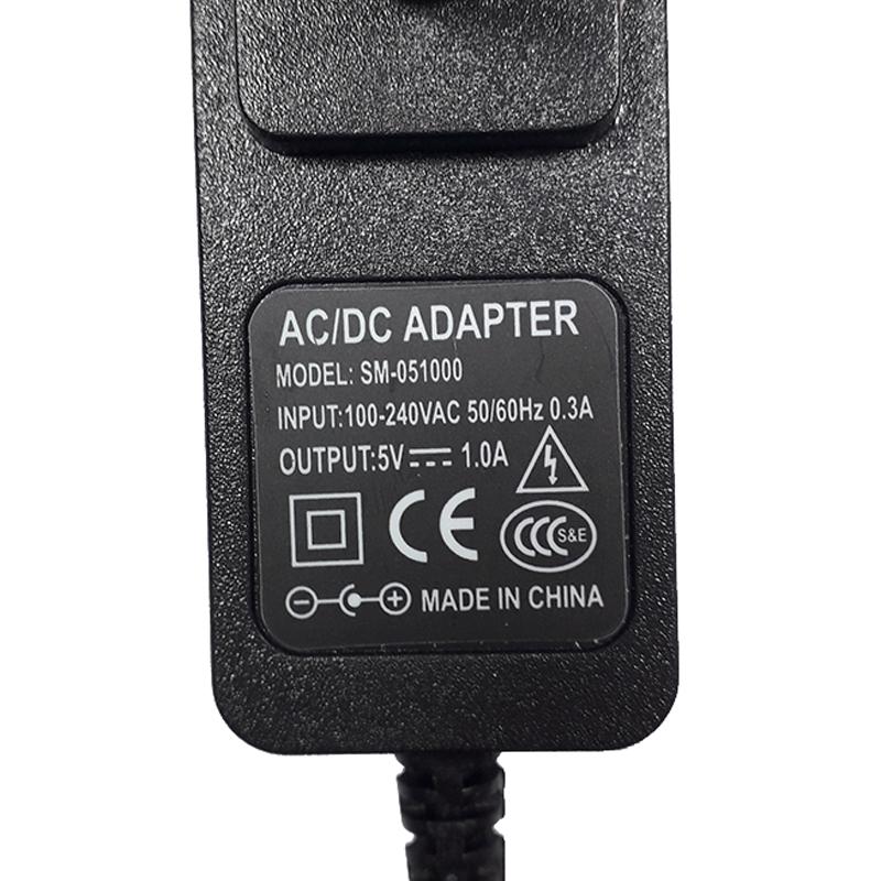 Nguồn Adapter 5V-1A 5.5x2.1mm