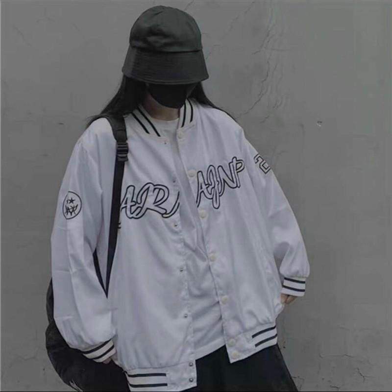 Áo khoác dù in nổi form chuẩn