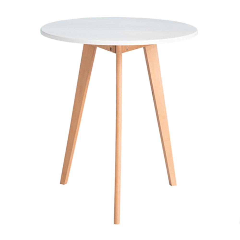 Bàn tròn Turin gỗ cao su