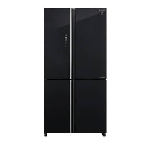 Tủ lạnh Sharp Inverter 572 lít 4 cửa SJ-FXP640VG-BK Model 2021 - Hàng chính hãng (chỉ giao HCM)