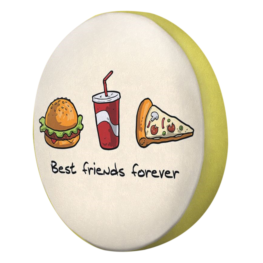 Gối Ôm Tròn Best Friend Forever - GOFO033