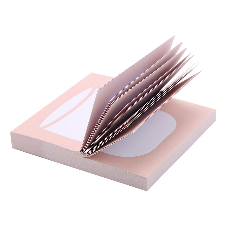 Giấy Note Vuông - Kèm Bút Bubu BLTP-0054 - Hình Cái Ly