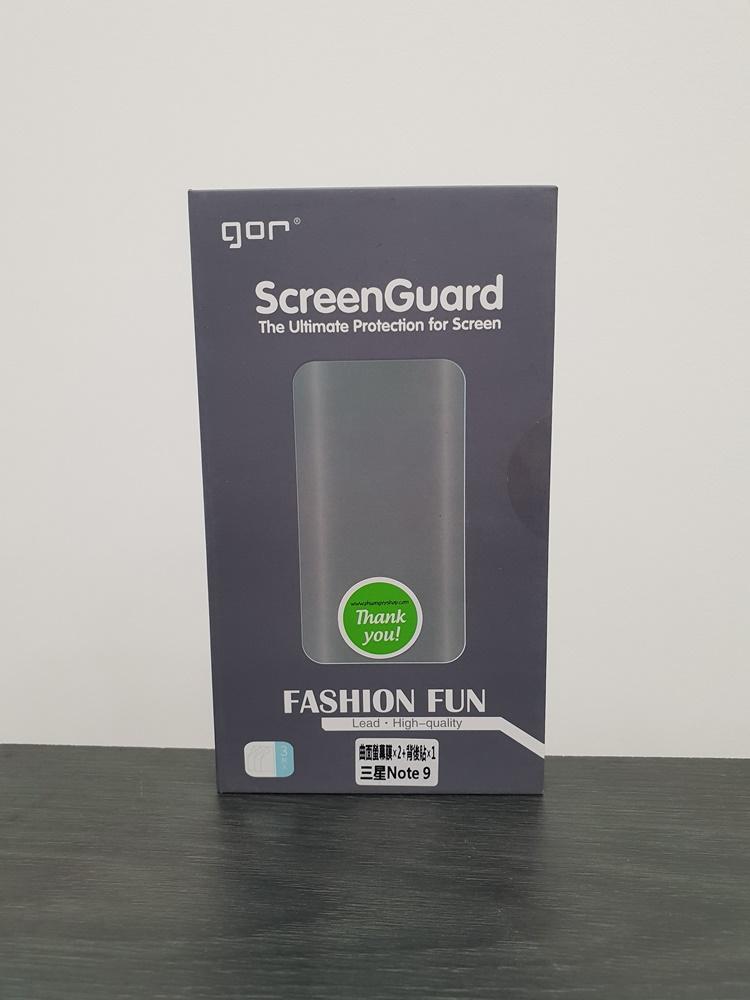 Bộ 4 miếng Dán Dẻo Gor Cho Galaxy Note 9 (dán Full màn hình) - Hàng nhập khẩu