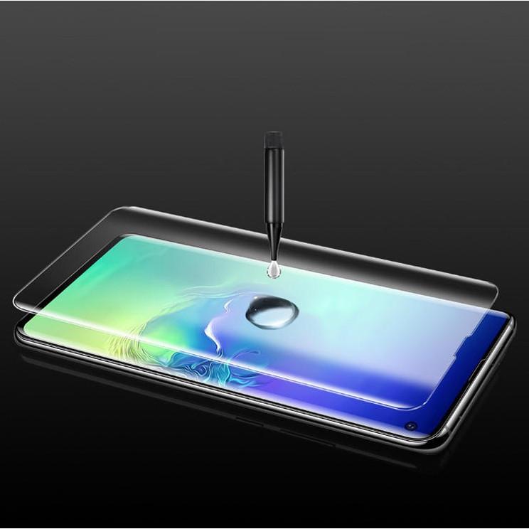 Tấm dán kính cường lực Full keo UV cho OPPO Reno 4 Pro