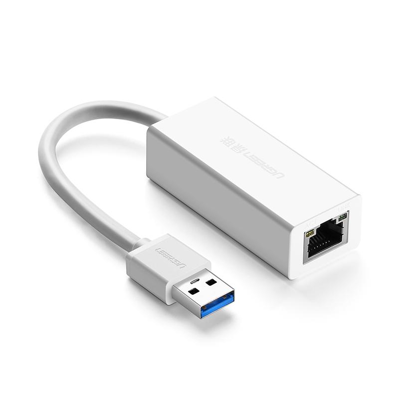 Bộ chuyển đổi USB 3.0 sang LAN 10/100/1000 Mbps CR111 20255 - Hàng chính hãng