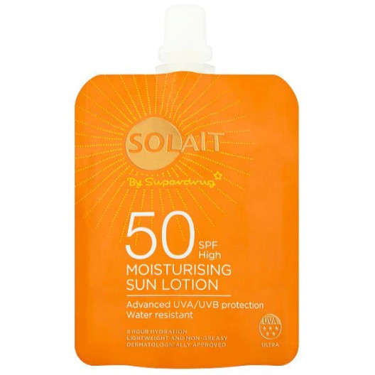 Kem chống nắng Solait Moisturising Sun Lotion Pouch SPF50 - 50ml