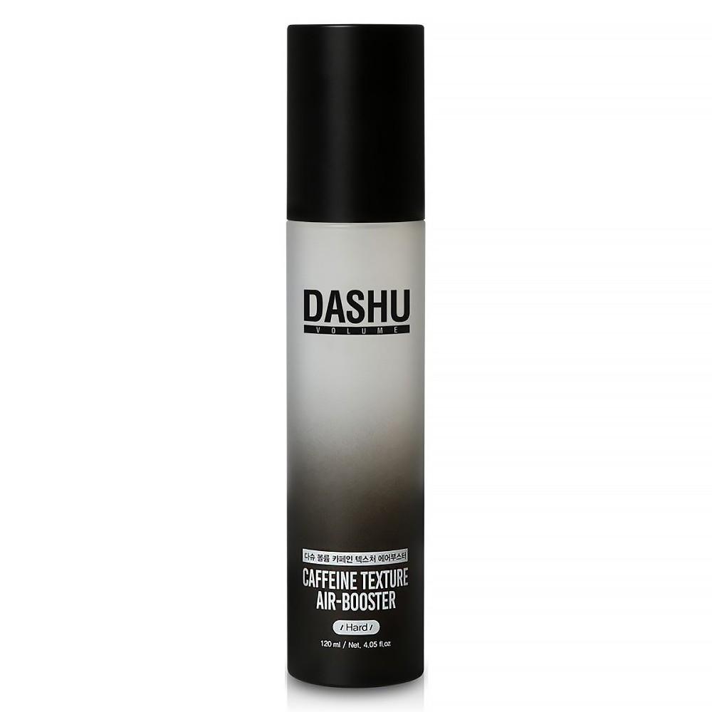 Keo xịt tóc, tạo kiểu, giữ nếp, làm phồng tóc dùng cho Nam/Nữ tóc ngắn vừa Dashu Volume Caffeine Texture Air Booster 120ml (Hard), 90% thành phần tự nhiên, 14 loại thảo dược giúp xịt dưỡng tóc, bảo vệ da đầu, nang tóc.