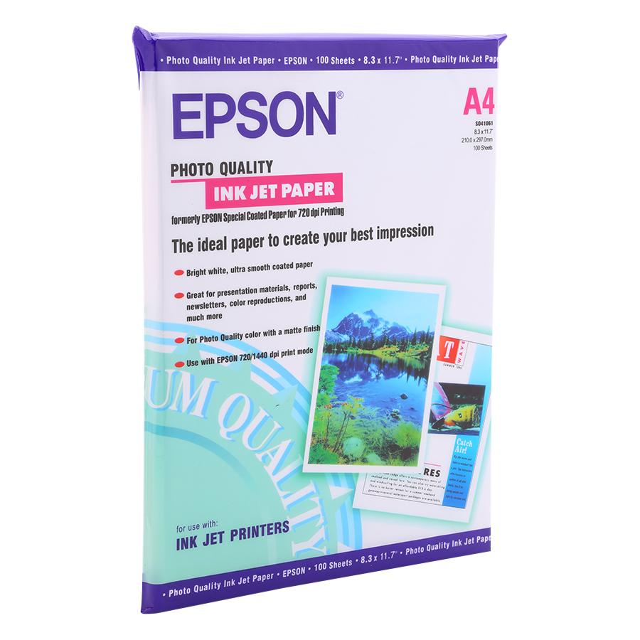 Giấy In Ảnh A4 Epson 1 Mặt 20 Tờ Định Lượng 230Gsm
