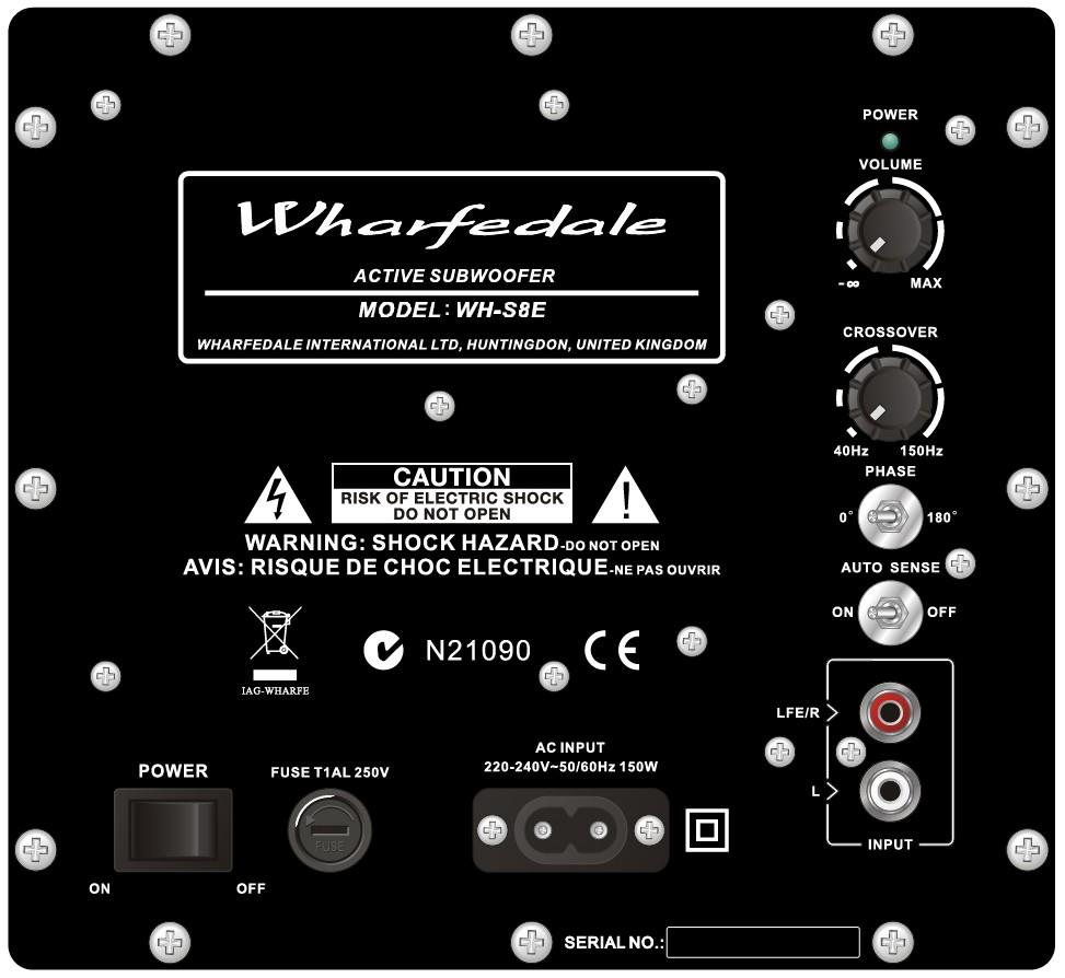 Loa WHARFEDALE SUBWOOFER WH-S10E hàng chính hãng new 100%