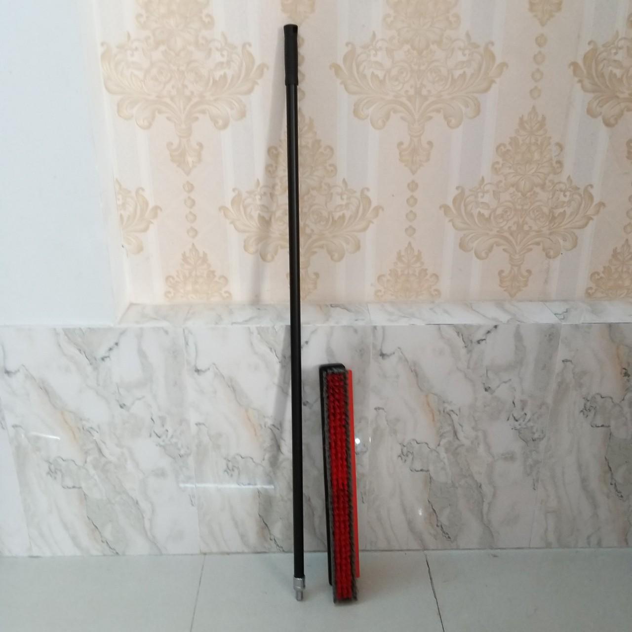 Bàn chải cán dài chà và gạt nước sàn đa năng 45cm Asia