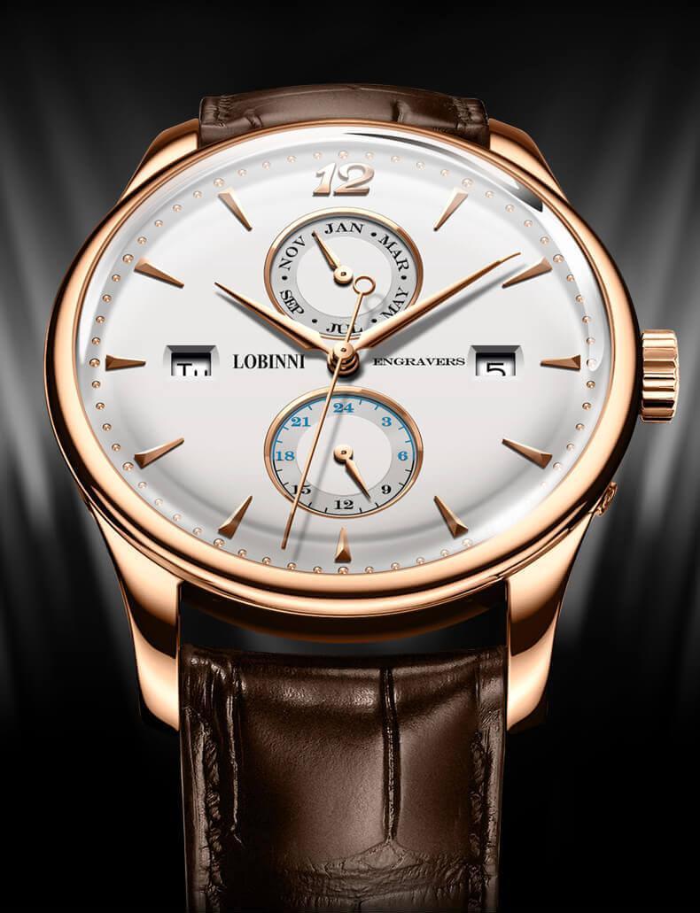 Đồng hồ nam chính hãng LOBINNI L1803-1