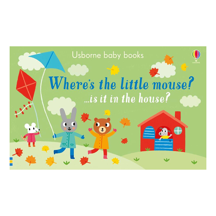 Usborne Where's The Little Mouse? …Is It In The House?