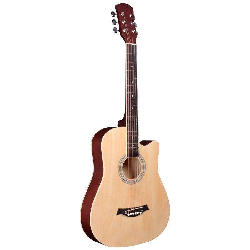 Đàn guitar acoustic ty chỉnh cần (tặng kèm pick gãy, giáo trình file mềm)