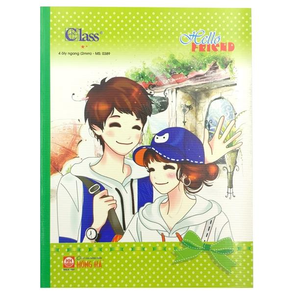 Bộ 10 Tập Class 4 Ôly Ngang (96 Trang) - 0389 - Mẫu 2