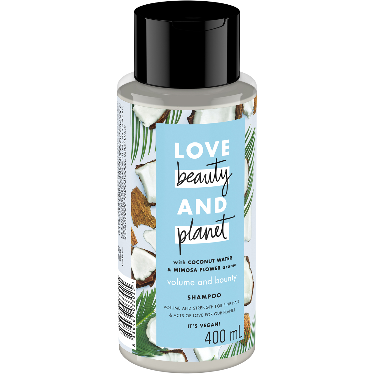 Dầu Gội Tóc Bồng Bềnh Love Beauty And Planet Volume and Bounty 400ml