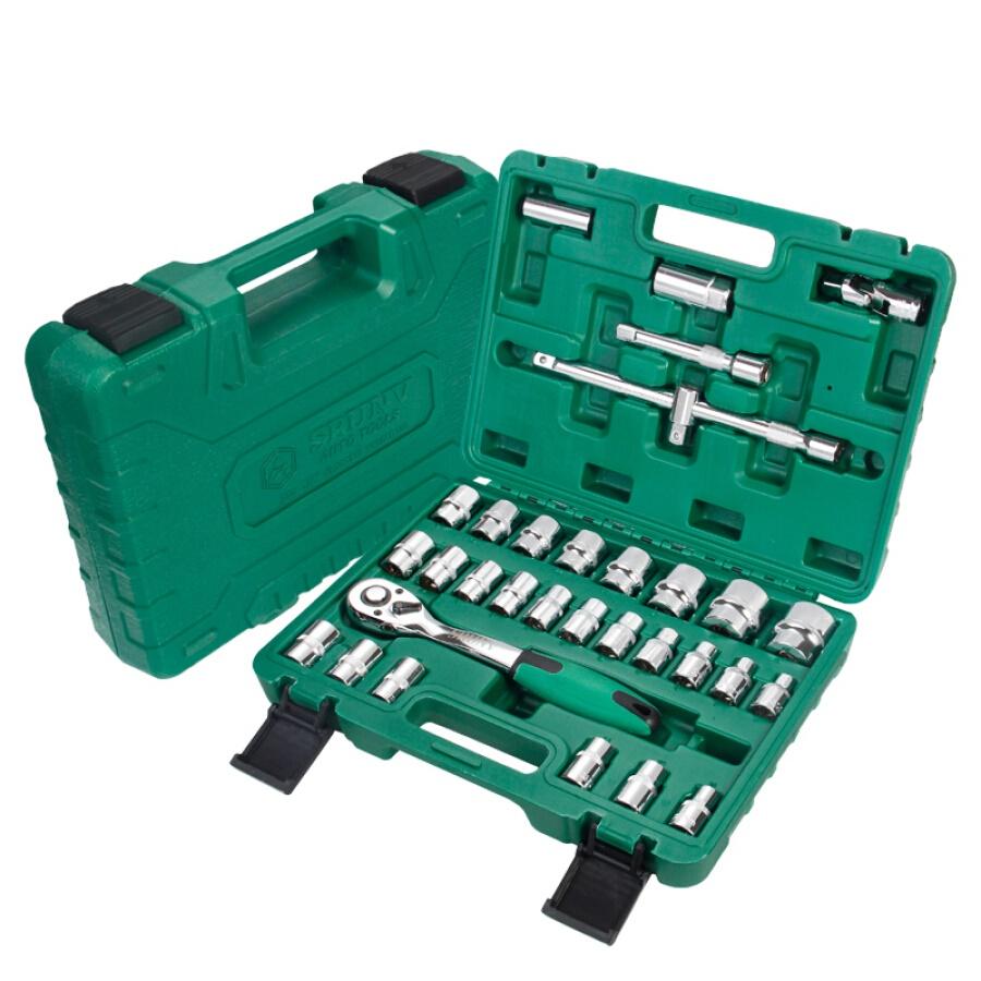 Xinrui SRUNV casing auto repair socket wrench set fast ratchet repair tools multi-function tire disassembly advanced 32 sets A1-D03209 - 23408439 , 8942655208924 , 62_15181191 , 1055000 , Xinrui-SRUNV-casing-auto-repair-socket-wrench-set-fast-ratchet-repair-tools-multi-function-tire-disassembly-advanced-32-sets-A1-D03209-62_15181191 , tiki.vn , Xinrui SRUNV casing auto repair socket w