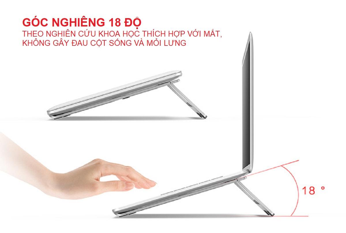 Giá Đỡ Dành Cho Laptop Macbook Để Bàn Có Thể Gấp Gọn. Chất Liệu Hợp Kim Nhôm Cao Cấp