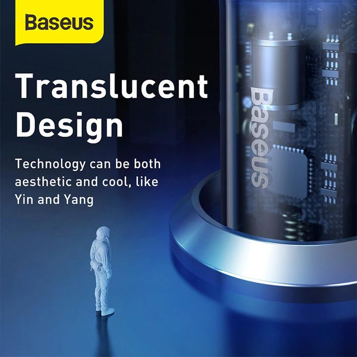 Tẩu sạc nhanh đa năng Baseus CCKX-C0A tích hợp Type-C công suất 65W