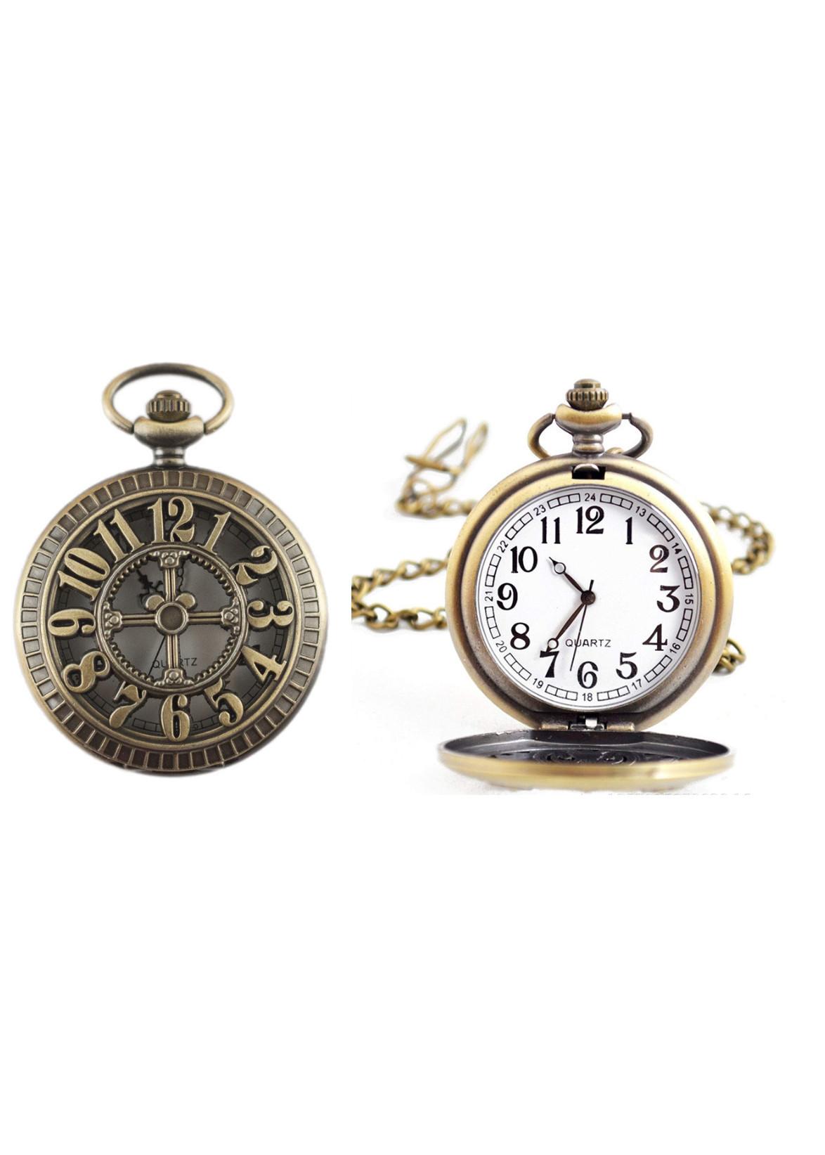 Đồng hồ Quả quýt cao cấp nắp số 3D + Tặng dây đeo DH4