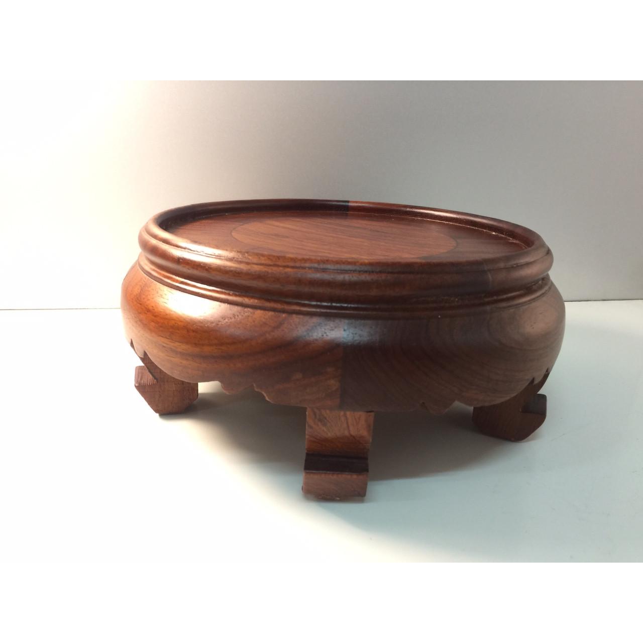 Đế Bát Hương ( gỗ hương) có chân