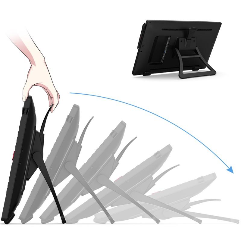 Bảng Vẽ Màn Hình XP-Pen Artist 22R Pro 21.5inch IPS FullHD 90% AdobeRGB, 2 Dial, 20 Express Keys, Lực Nhấn 8192 - Hàng Chính Hãng