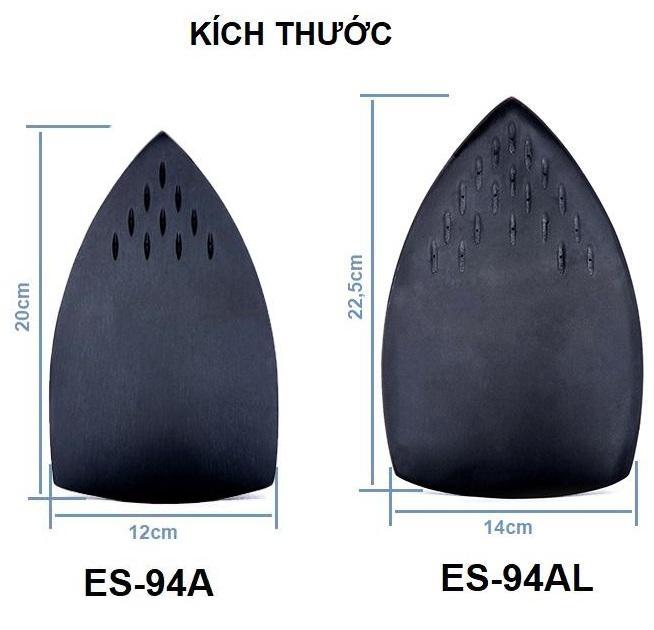 Bàn ủi hơi nước bình treo công nghiệp ES-94AL Silver Star - Hàng chính hãng