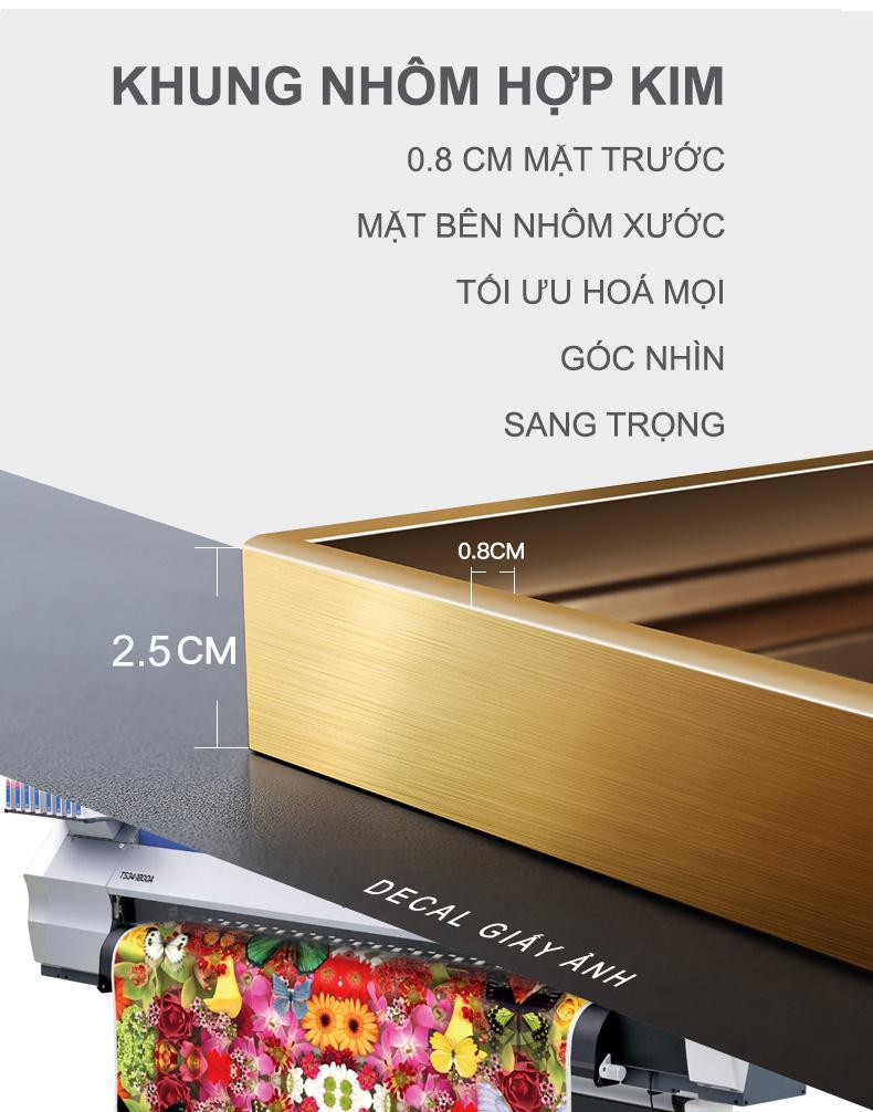 Tranh phong thuỷ Mica 3 bức Mặ trời vàng và nai trắng trừu tượng (Sơn Đầu Hỏa). Model: AZ3-0129. Khung nhôm hoặc Composite. Hình ảnh sắc nét, sang trọng, phù hợp nhiều không trang trí