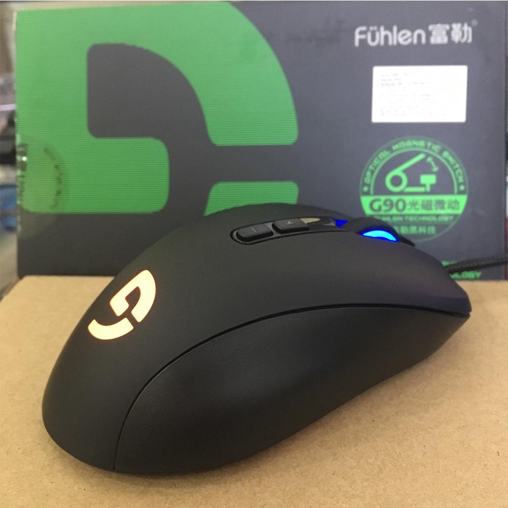 Chuột Game có dây Fuhlen G90- Hàng Chính Hãng