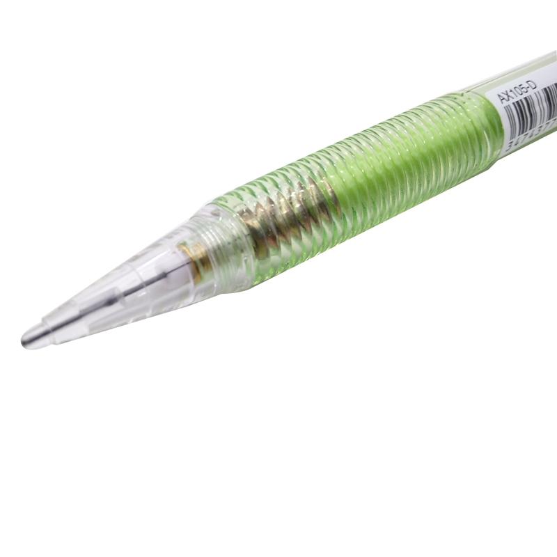 Bộ 2 Bút Chì Bấm Pentel 0.5mm AX105-D - Màu Xanh Lá